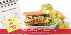 National Days, National Holidays, Take Out Menu, National Day Calendar, Carrot Sticks, Food Pack, Lunch Time, Fresh Vegetables, Cherry Tomatoes