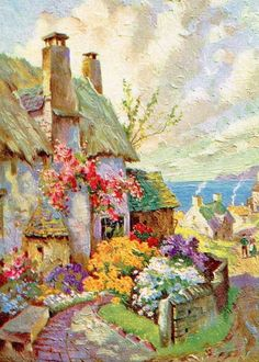 848 best cottage art images in 2019 cottage art storybook cottage rh pinterest com