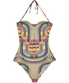 I found this on @lindsay eller! Gorgeous swimsuit!