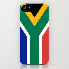 National flag of the Republic of South Africa - Authentic iPhone & iPod Case by LonestarDesigns2020 - Flags Designs + - $35.00