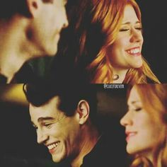 "Clary and Simon - Shadowhunters 2x01 ""The Guilty Blood"""