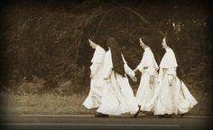 strolling nuns