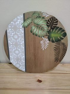 Decoupage Vintage, Decoupage Paper, Farm Crafts, Wood Crafts, Diy And Crafts, Modern Plant Stand, Mocca, Wooden Wall Art, Home And Deco