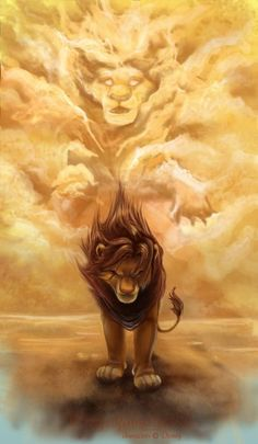 Amazing Lion King art