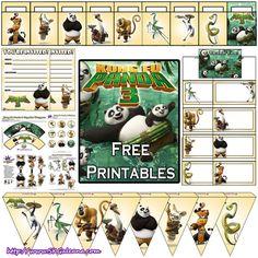 Kung Fu Panda 3 Free Printables