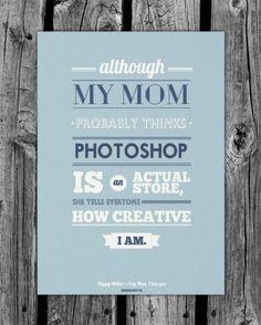 Quotes & Design. I creativi e la mamma
