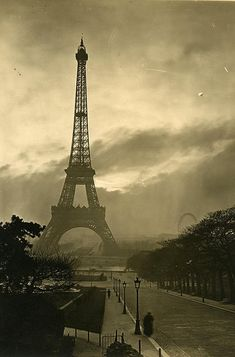 A collection of black & white photos of Paris in 1920, all taken by Pierre-Yves Petit.