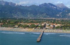 Forte dei Marmi, an Itlaian beach resort near Pisa and Lucca.  There's suppposed to be a great flea market there, too.