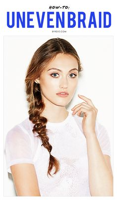 The easiest (and prettiest) braid #tutorial to try right now (via @byrdiebeauty) // #Hair #HowTo