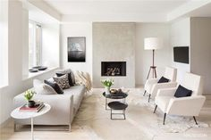 An inspirational image from Farrow and Ball. Cornforth White.