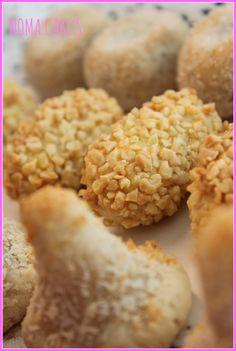 Panellets (Receta) | NomaCakes Krispie Treats, Rice Krispies, Cereal, Dishes, Breakfast, Desserts, Regional, Food, Gastronomia