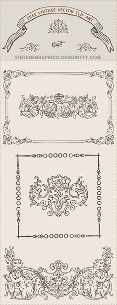 Royalty Free Images   Vintage Frame Graphic - http://vintagegraphics ...