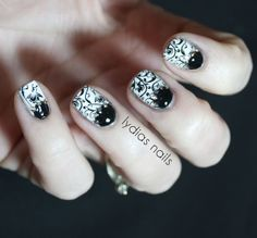 Lydia's Nails: The New 31 Day Challenge - Black and White