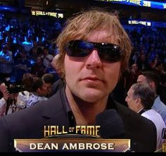 He wears his sunglasses at night! Hall of Fame Ceremony 2016