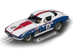 Carrera 1/32 Chevrolet Corvette Sting Ray Slot Car - CA27524