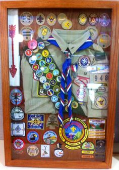 Eagle Scout Shadow Box