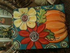 CRAZY DAISY  - Painting for LET'S PAINT - GNO !