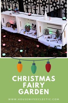 Fantastic Images christmas fairy garden Thoughts There may be countless superb fairy backyards on the net although it may be daunting to have started. It looks. Christmas Party Food, Christmas Fairy, Christmas Sewing, All Things Christmas, Christmas Decorations, Christmas Ideas, Christmas Brunch, Christmas Recipes, Holiday Ideas