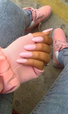 Blush Vibes // Nails by kikirajx0