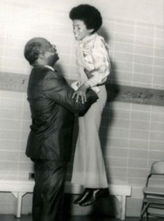♥ Michael Jackson ♥ - with his grandfather who also had Vitiligo which you can see on him very well in this picture.