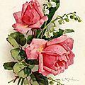 1er mai, roses et muguet...