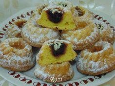 Rozi Erdélyi konyhája: Citromos minikuglófok Ring Cake, Savarin, Scones, Pound Cakes, Cup Cakes, Muffin, Vaj, Breakfast, Food