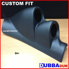 VW GOLF MK4 1.8 1.9 2.0 GT TDI GTI 3.2 R32 TWIN PILLAR MOUNT GAUGE POD PODS 52MM