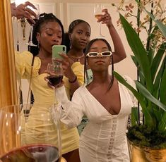 """""""it's all about galentines today! Black Girl Fashion, Look Fashion, Female Fashion, 90s Fashion, Black Girl Magic, Black Girls, Beautiful Black Women, Beautiful People, Beautiful Pictures"""