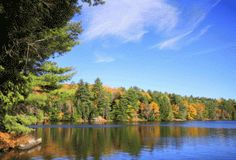 Nearly half a decade before Silent Lake became a provincial park, American sportsmen used the private region, located southwest of Bancroft, for hunting Ontario Provincial Parks, Amazing Places, Beautiful Places, Niagara Region, Lake Huron, Camping Spots, Lake Superior, Naturally Beautiful, Arbonne
