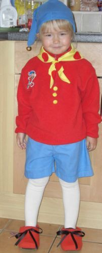 A classic story leads to this effective Noddy costume!  #costumes # costume #dressup #netmums