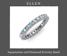 Eternity Ring Diamond, Eternity Bands, Wedding Bands, Wedding Day, Romantic Love Stories, White Gold, Rose Gold, Gemstones, Bracelets