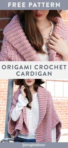 Crochet Cardigan Pattern, Crochet Hoodie, Crochet Poncho, Crochet Patterns, Crochet Designs, Crochet Yarn, Knitting Patterns, Crochet Sweaters, Crochet Clothes