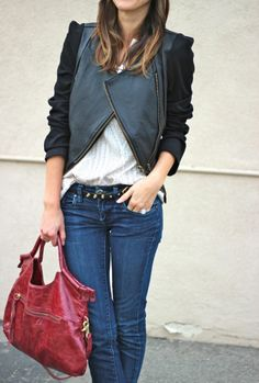 There's nothing wrong with this ensamble. Low key chic style..simply classy!