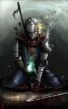 Dark Fantasy Art, Dark Art, Fantasy Artwork, Rwby Characters, Fantasy Characters, Rwby Crossover, Arte Dark Souls, Soul Saga, Plan Image