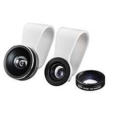 $11 Amazon.com: Mpow 3 in 1 Clip-On 180 Degree Supreme Fisheye Lens, 0.67X Wide Angle Lens, 10X Macro Lens kit for iPhone 6 / 6s/6Plus ,iOS &Android Smartphones: Cell Phones & Accessories