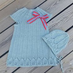Hillevikjole og -lue fra Nøstestrikk nr. 5.   Nøstebarn Instagram Posts, Sweaters, Dresses, Fashion, Vestidos, Moda, Fashion Styles, Sweater, Dress