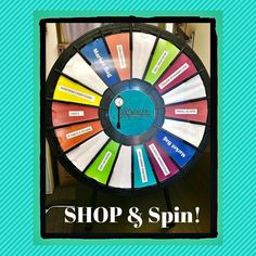 Prize Wheel, Brick And Mortar, Win Prizes, Candy Store, Market Bag, Spinning, Tabletop, Wheels, Action