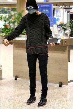 140831 At Hong Kong Airport go back to Korea #BamBam