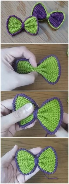 How To Crochet A Simple Bow