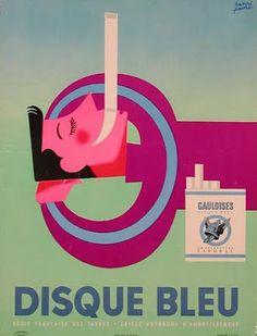 Disque bleu - Henri Favre - 1950