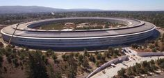 Agosto 2017: ecco i progressi sul cantiere dellApple Park