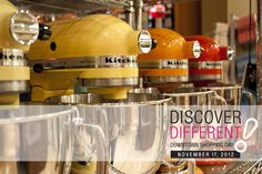 Colour your kitchen with Kingsmill's large selection of Kitchen Aid stand mixers!