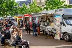 From 8th to 10th May enjoy the largest Food Truck Festival in Europe during the Fête de l'Iris / Irisfeest in Brussels © EDanhier Photography