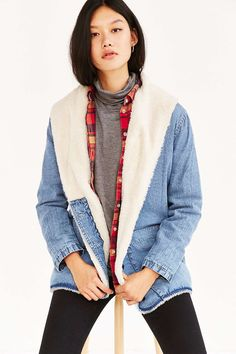 Rolla's Sherpa Lined Beach Jacket  I want this soo badly!