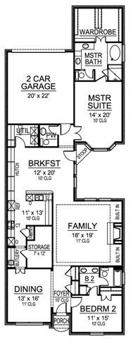 Spacious Beach House Plan - 15038NC | 1st Floor Master Suite ...