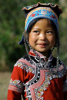 Smile @ 元陽, Yunnan, China by ColmanLi on Flickr.Smile @ 元陽, Yunnan, China