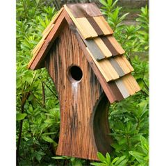 Nottingham Bird House, via Doctors Foster and Smith -- [REPINNED by All Creatures Gift Shop]