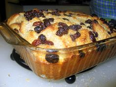 The Virtuous Wife: Easy Bread Pudding Tutorial
