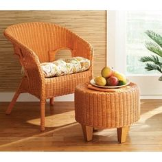 How To Refinish Furniture | Transform A Wicker Chair Or Settee | AllYou.com  | Books Worth Reading | Pinterest | Refinished Furniture, Wicker Chairs And  ...