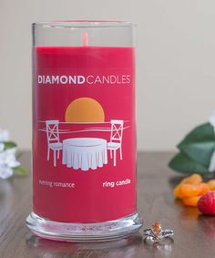 Red Evening Romance Ring Candle #zulily #zulilyfinds